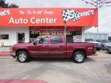 2006 Sport Red Metallic Chevrolet Silverado 1500 LT Crew Cab 4x4 #33548835