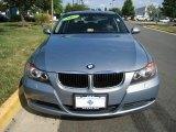 2007 Arctic Metallic BMW 3 Series 328xi Sedan #33548398
