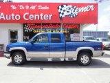 2004 Arrival Blue Metallic Chevrolet Silverado 1500 Z71 Extended Cab 4x4 #33548836