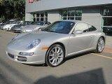 2008 Arctic Silver Metallic Porsche 911 Carrera 4 Coupe #33549092