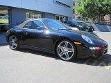 2008 Black Porsche 911 Carrera 4S Cabriolet #33549093