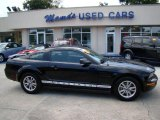 2005 Black Ford Mustang V6 Deluxe Coupe #33548903