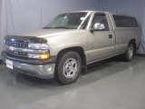 2000 Sunset Gold Metallic Chevrolet Silverado 1500 LS Regular Cab #33548913