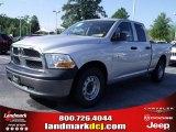 2010 Bright Silver Metallic Dodge Ram 1500 ST Quad Cab #33548682