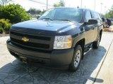 2008 Dark Blue Metallic Chevrolet Silverado 1500 Work Truck Regular Cab #33549223