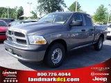 2010 Mineral Gray Metallic Dodge Ram 1500 ST Quad Cab #33548688