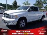 2010 Stone White Dodge Ram 1500 Big Horn Quad Cab #33548690