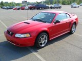 2000 Performance Red Ford Mustang GT Coupe #33549239