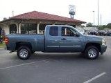 2010 Blue Granite Metallic Chevrolet Silverado 1500 LS Extended Cab #33548970