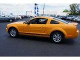 2007 Grabber Orange Ford Mustang V6 Premium Coupe #33548481