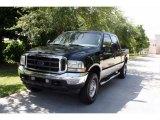 2004 Black Ford F250 Super Duty Lariat Crew Cab 4x4 #33548782