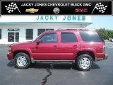2004 Sport Red Metallic Chevrolet Tahoe Z71 4x4 #33549059