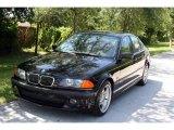 2001 Jet Black BMW 3 Series 330i Sedan #33606165