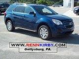 2010 Navy Blue Metallic Chevrolet Equinox LT #33606484