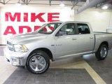 2010 Bright Silver Metallic Dodge Ram 1500 Big Horn Crew Cab #33606168