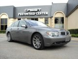 2003 Sterling Grey Metallic BMW 7 Series 745i Sedan #33606509