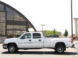 2006 Summit White Chevrolet Silverado 3500 LT Crew Cab 4x4 Dually #33606561