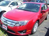 2010 Red Candy Metallic Ford Fusion SE #33605987