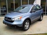 2007 Glacier Blue Metallic Honda CR-V LX #33606591