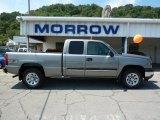 2006 Graystone Metallic Chevrolet Silverado 1500 LS Extended Cab 4x4 #33606002