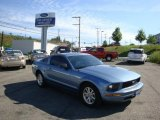 2007 Windveil Blue Metallic Ford Mustang V6 Deluxe Coupe #33606036