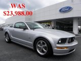 2007 Satin Silver Metallic Ford Mustang GT Premium Coupe #33606064
