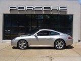 2007 Arctic Silver Metallic Porsche 911 Carrera Coupe #33606929