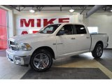 2010 Inferno Red Crystal Pearl Dodge Ram 1500 Big Horn Crew Cab #33673448