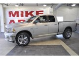 2010 Bright Silver Metallic Dodge Ram 1500 Big Horn Quad Cab #33673450