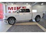 2010 Stone White Dodge Ram 1500 Big Horn Quad Cab #33673451
