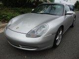1999 Arctic Silver Metallic Porsche 911 Carrera Coupe #33673757