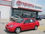 2003 Infra-Red Ford Focus ZTS Sedan #33673226