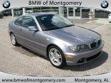 2004 Silver Grey Metallic BMW 3 Series 330i Coupe #33673486
