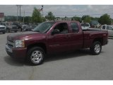 2009 Deep Ruby Red Metallic Chevrolet Silverado 1500 LT Extended Cab 4x4 #33673906