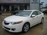 2010 Premium White Pearl Acura TSX Sedan #33673608