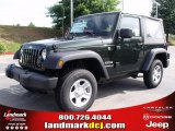 2010 Natural Green Pearl Jeep Wrangler Sport 4x4 #33673323
