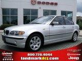 2005 Titanium Silver Metallic BMW 3 Series 325i Sedan #33673342