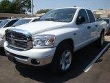 2007 Bright White Dodge Ram 1500 ST Quad Cab 4x4 #33673996