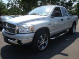 2008 Mineral Gray Metallic Dodge Ram 1500 Big Horn Edition Quad Cab 4x4 #33673998