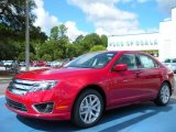 2010 Red Candy Metallic Ford Fusion SEL #33673160
