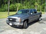 2007 Graystone Metallic Chevrolet Silverado 1500 Classic LT  Z71 Crew Cab 4x4 #33745139