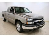 2007 Graystone Metallic Chevrolet Silverado 1500 Classic Work Truck Extended Cab #33745243
