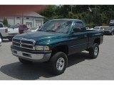 1999 Dodge Ram 1500 Emerald Green Pearl