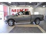 2010 Mineral Gray Metallic Dodge Ram 1500 Big Horn Quad Cab #33744752