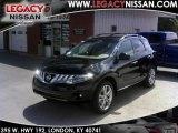 2010 Super Black Nissan Murano LE AWD #33744522