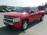 2010 Victory Red Chevrolet Silverado 1500 LT Extended Cab #33745302