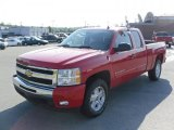 2010 Victory Red Chevrolet Silverado 1500 LT Extended Cab 4x4 #33745305