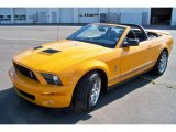 2007 Grabber Orange Ford Mustang Shelby GT500 Convertible #33744560