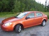 2007 Sunburst Orange Metallic Chevrolet Cobalt LS Sedan #33744561