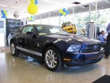 2011 Kona Blue Metallic Ford Mustang V6 Premium Coupe #33744573